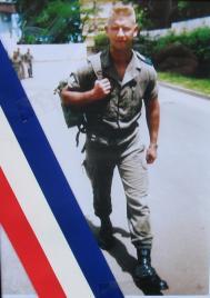 Hommage au Sergent TRENEL - 3è RPIMA