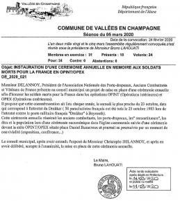 decision conseil municipal vallées en champagne