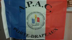 Drapeau A.P.A.C, petit modèle
