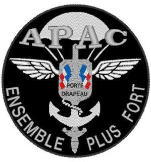 GRAND PATCH APAC -  diam 20cm - DORSAL CUIR