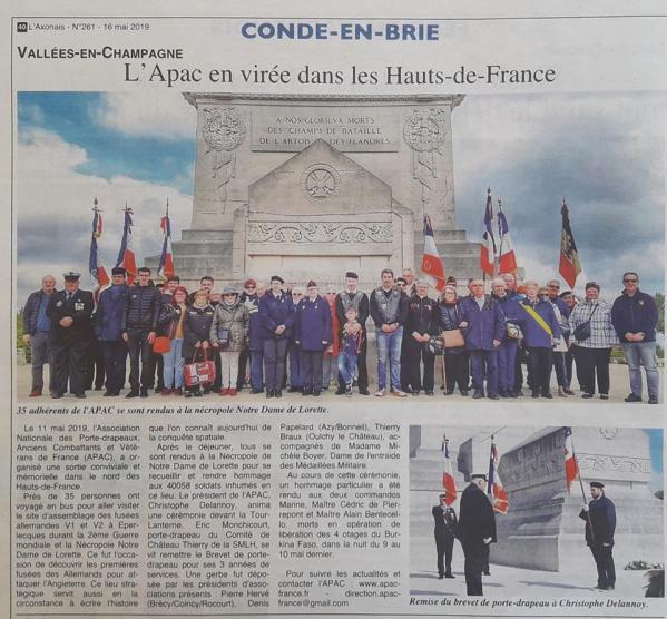 Sortie du 11 mai 2019 - Hauts de France