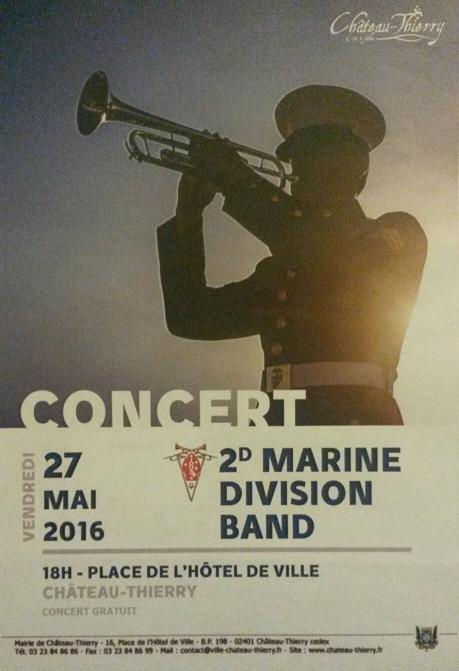 Concert 2nd DIVMAR Corps