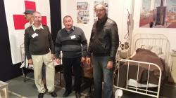 GàD : Alain Péricart, Patrick Monchicourt, Philippe Henry