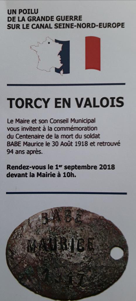 01.09.2018 TORCY EN VALOIS