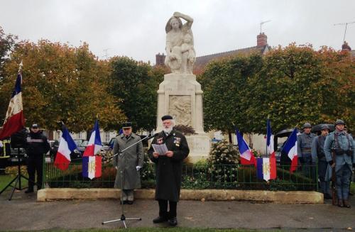 11.11.2017 : Armistice Fère en Tardenois