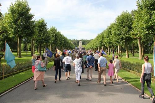 27.05.2018 - Memorial Day  : Cimetière Aisne-Marne de Belleau
