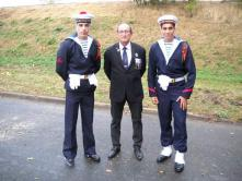 23.09.2018 stèle fusiliers marins - Laffaux