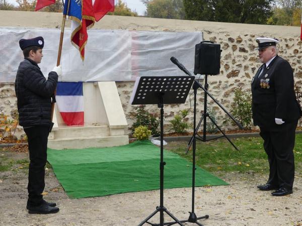 10.11.2018 : Brevet Porte-Drapeau - Saint Agnan