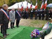 10.11.2018 : inauguration monument aux morts de Saint Agnan