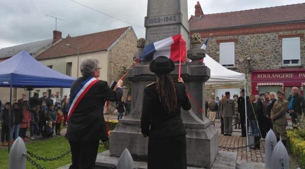 cérémonie du 8 mai 2019 - Trélou sur Marne