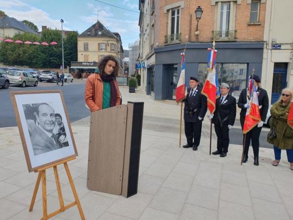 28.09.2019 - Hommage au Président Jacques CHIRAC