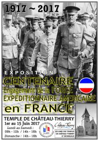 Affiche exposition AEF 1917 - 2017