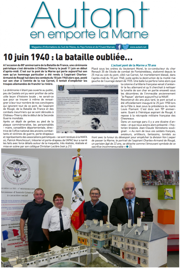 11.06.2020 : Article autantenemportelamarne