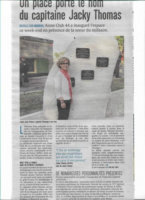Article presse margival
