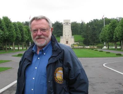 David Atkinson, Surintendant du Cimetière Aisne-Marne de Belleau