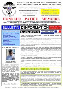 Bulletin APAC 2e semestre 2019