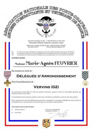 Diplome déléguée APAC MA FEUVRIER