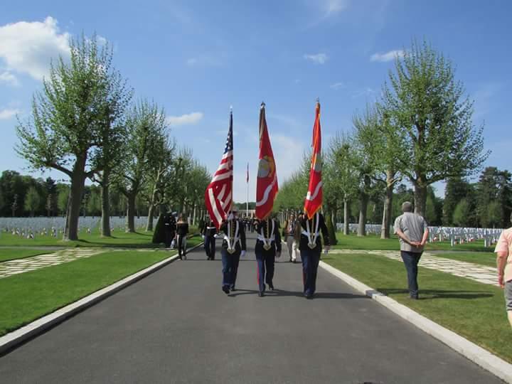 Memorial day seringes et nesles - Port de la tenue militaire en retraite ...