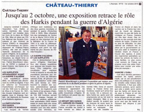 Rôle des Harkis dans la guerre d'Algérie