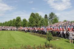 27.05.2018 : Memorial Day, cimetière Aisne-Marne de Belleau