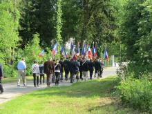 30.05.2015 cortège vers le cimetière communal de belleau