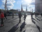 Marche sur les Champs Elysées