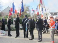 11.11.2015 : les porte-drapeaux brevetés rejoignent les rangs