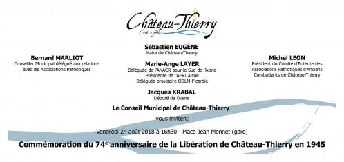 24.08.2018 - liberation chateau thierry