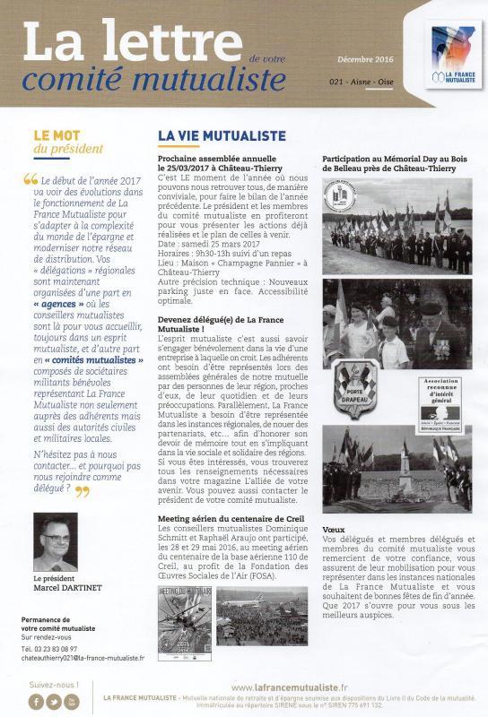 Comité Oise-Aisne, Château-Thierry