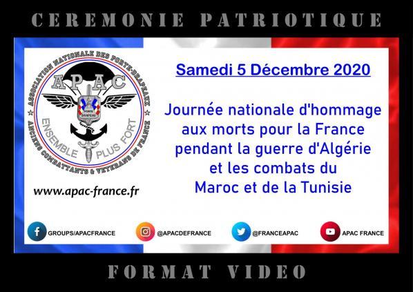 cérémonie vidéo APAC - 05 12 2020