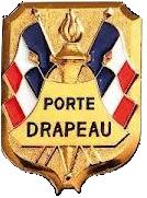 Insigne de porte-drapeau